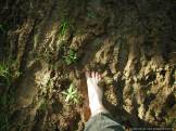 "Leaving my mark... I have a saying that ""Your feet are as clean as the last thing they stepped in"" but this clay mud sticks and lingers all the way home"